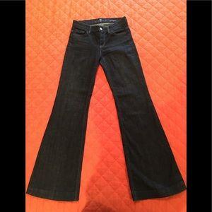Seven for all man kind Ginger jeans sz 26